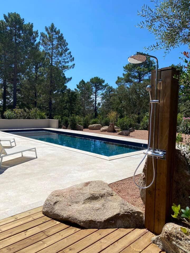 Villa avec piscine chauffée 10min de porto vecchio
