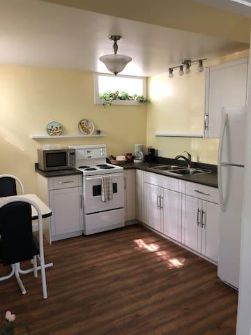 Bright Suite, Perfect Location Near River!