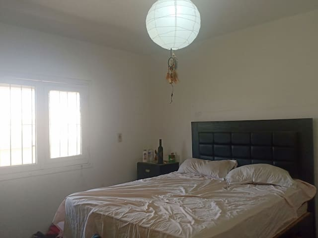 Beautiful lit master bedroom (females - one person