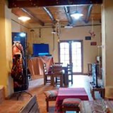 Eco Hostel . Promo 2 personas - San Agustin de Valle Fertil - Vandrarhem