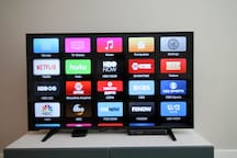 Smart TVs with Netflix and Cable