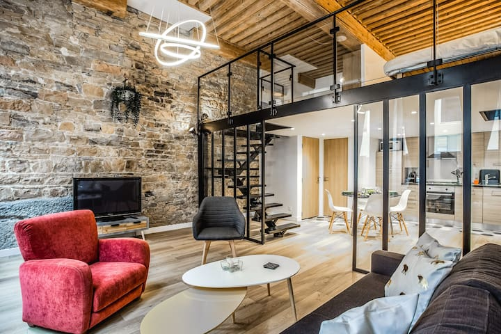 Amazing Modern Loft in Heart of Lyon