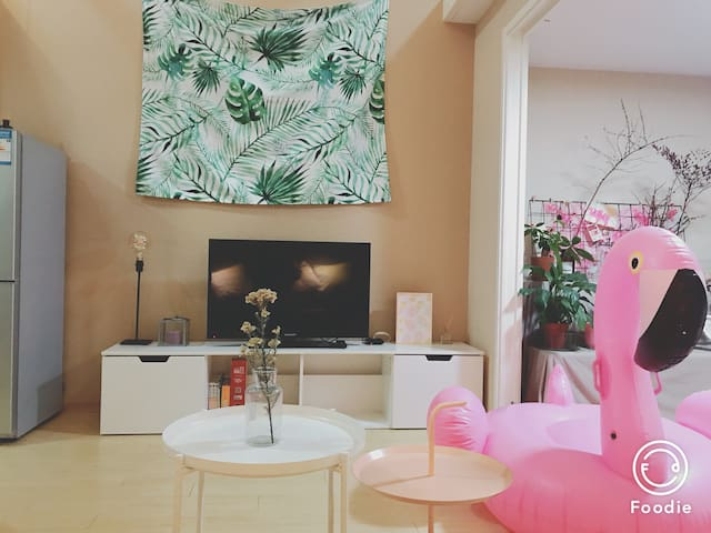 【特价花园森林风度假房】整套出租北欧风公寓,近城西银泰、西湖、浙大、黄龙中心等景区,最多可住6人