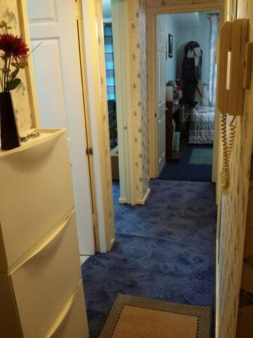 Entrance corridor