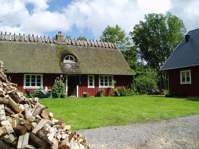 Lovely old cottage in the forest - Våxtorp - Cabin