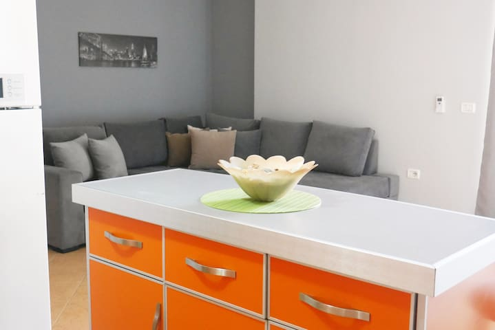 Sea side modern apartment