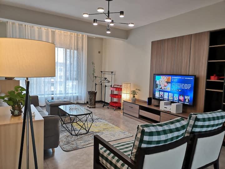 新客站2室一厅双卫暖庐小资公寓