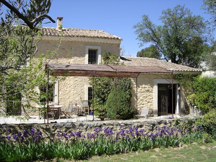 Mas Soligé Cottage Amandier Provence Mont Ventoux