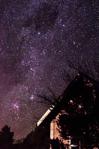 @chaledaserraurubici.  Durma com as estrelas!