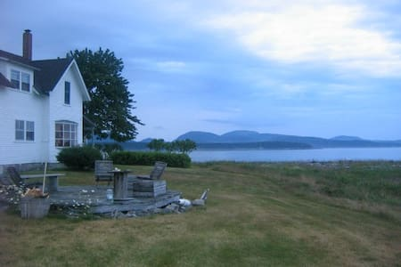 Large Maine Cottage on the Beach - Cranberry Isles