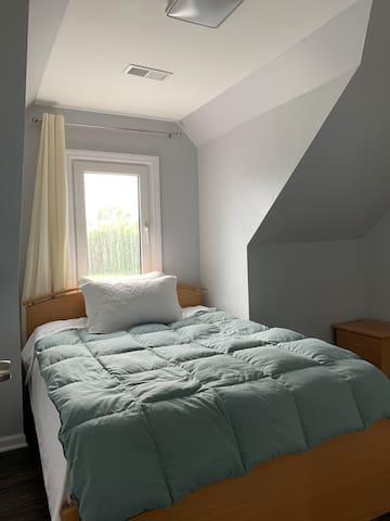 Full size bedroom on second floor