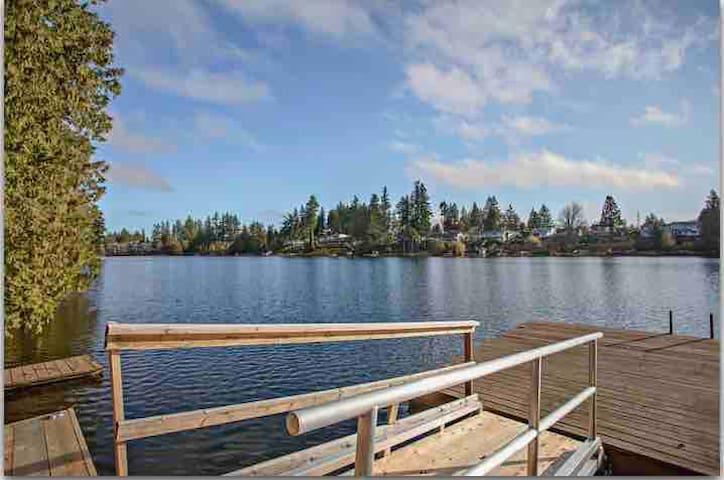 Lakefront 2 Bedroom Suite on Long Lake!