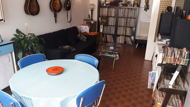 Apartment vintage style 5/10 min from the center