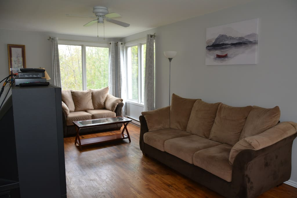 Livingroom with plenty of room