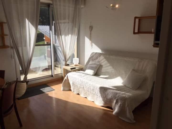 Studio cabine 4 personnes, résidence Face Sud