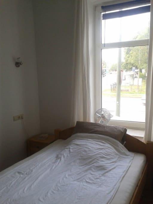 Schlafzimmer - klein aber fein