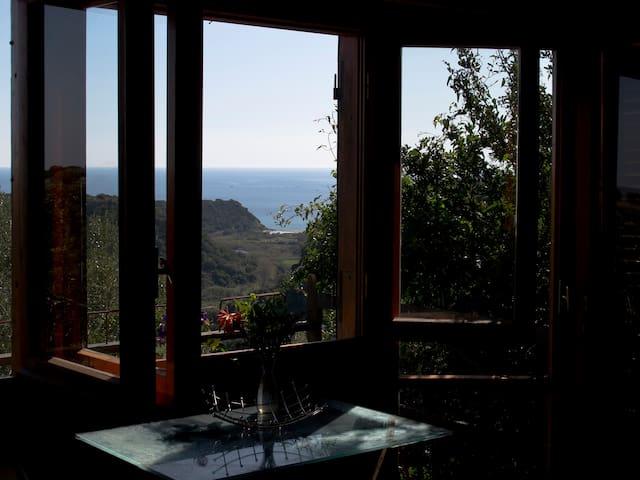 Casetta mediterranea, seaview 1km - Orosei - Casa