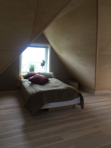 Spacious loft room with a view- for 2!
