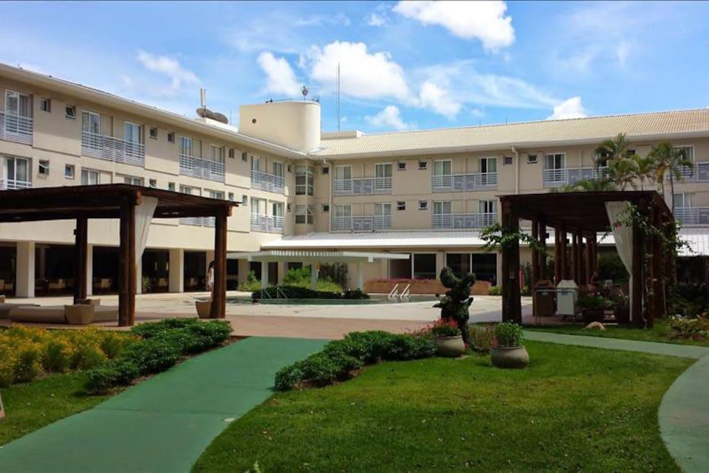 Área Interior Hotel Turismo