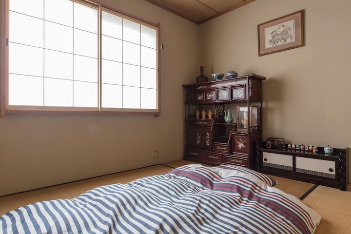 Tatami room - Futons