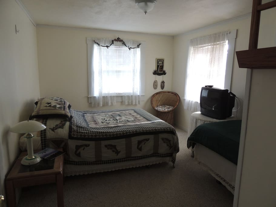 One of two rooms in Double Queen