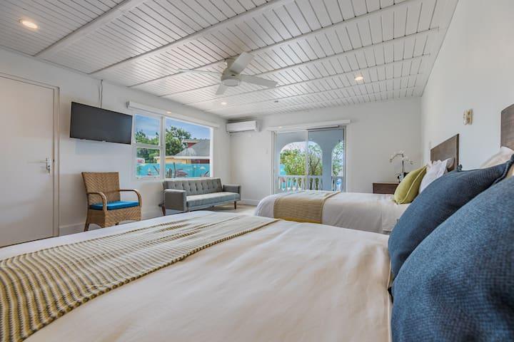 Monaco Vacation House Aruba 1 double bed room 8