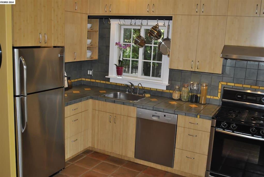 Updated Kitchen includes dishwasher.