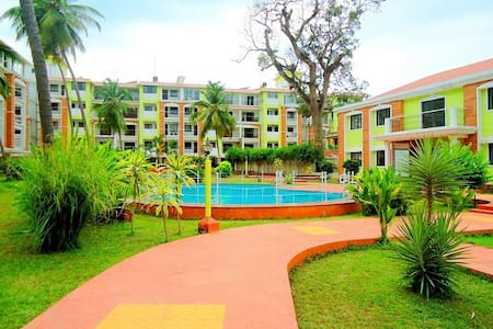 Cozy  2 BHK  with Pool in Candolim:CM007 - Candolim
