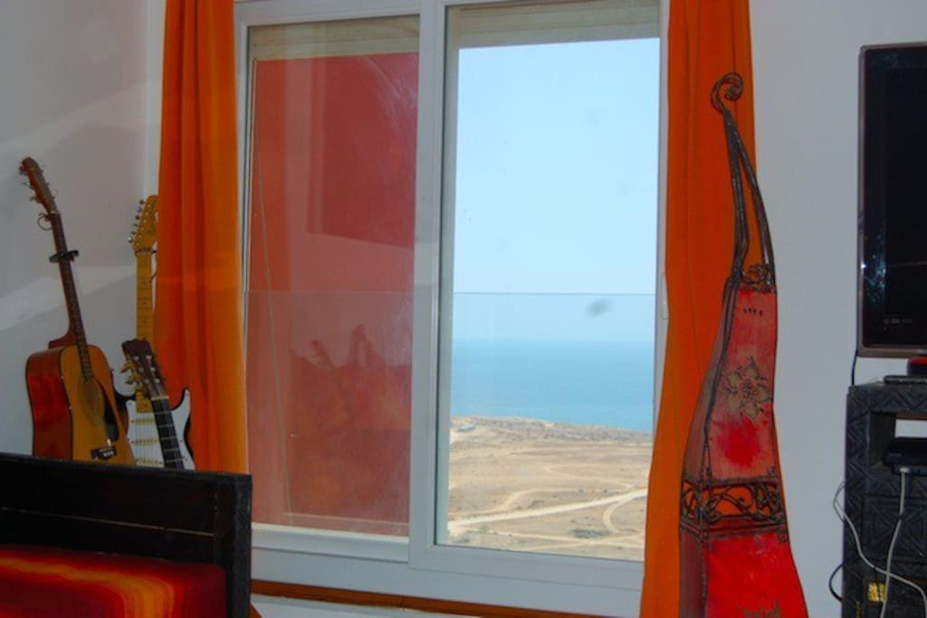 The Orange living room with ocean view