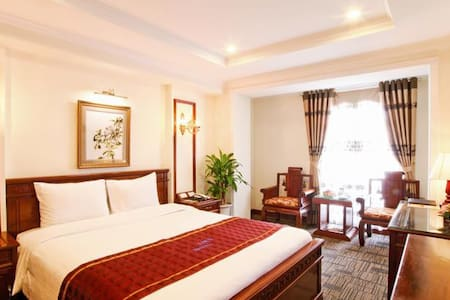 Superior room in Hanoi city center - Szoba reggelivel