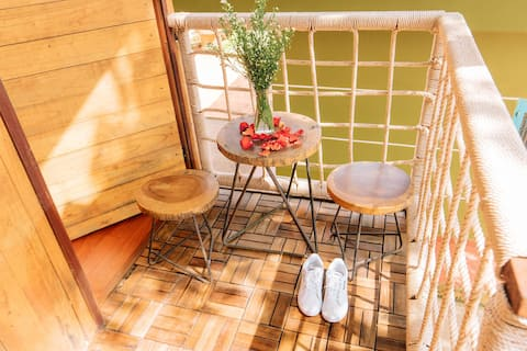 Chill House(Bathroom Outdoor)-Greenfield Farmstay