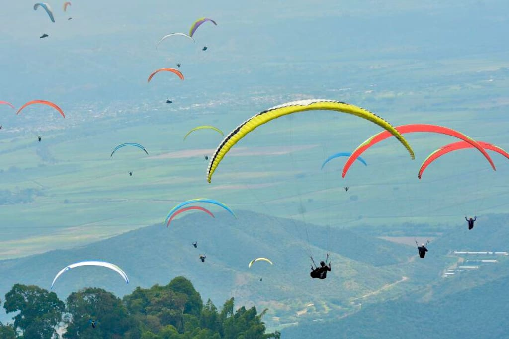 Views from the Air of the Del Cauca Valley
