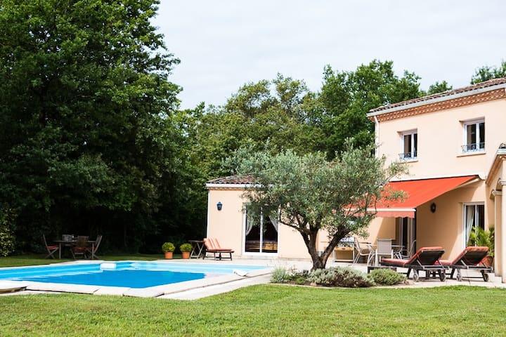 VILLA LES COTEAUX DE BORDEAUX - Camblanes-et-Meynac - Ev