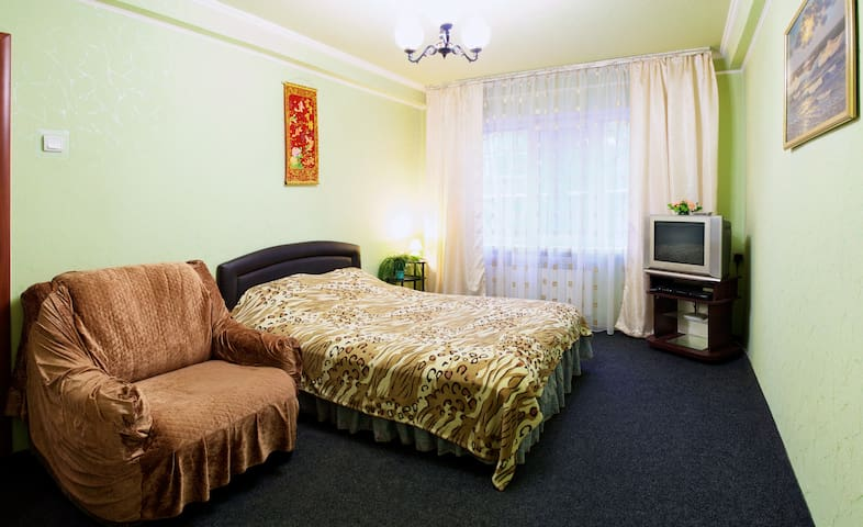 1room flat, center, Kievsky ave - Donetsk - Apartment