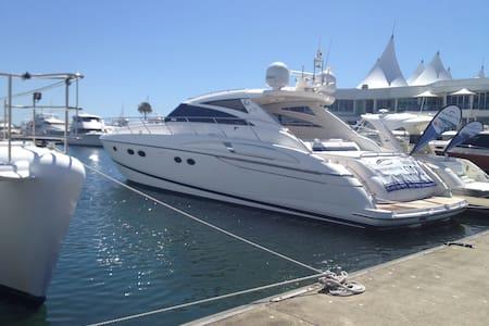 Luxury boat at Marina mirage - Main Beach
