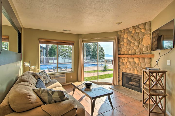 NEW! Garden City Condo w/Pool Access by Bear Lake!