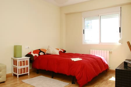 SUNNY ROOM close to BEACH&MOUNTAIN - Castellon de la Plana - Appartement
