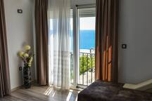 Apartment with Bedroom and Living Room+Sea View