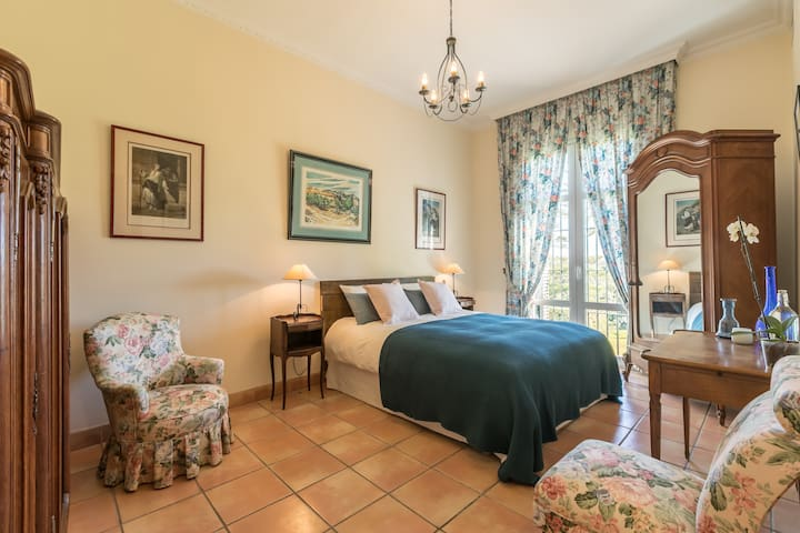 2 Rooms in Andalusian hacienda-Bed & breakfast