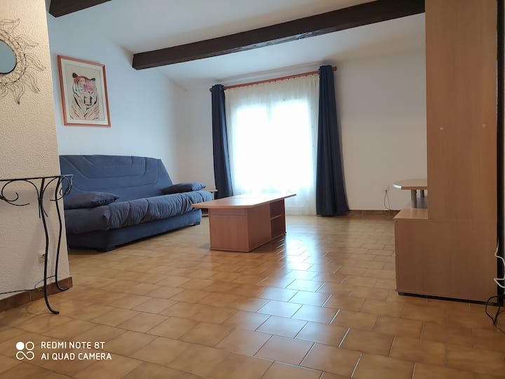 Joli appartement 48m2 au calme avec vue sur étang