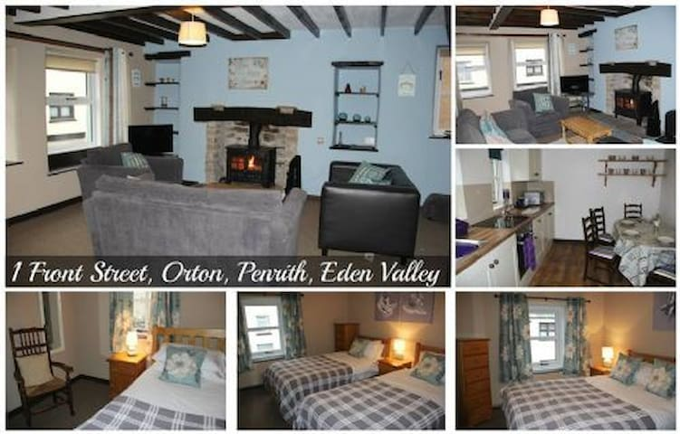 "Cosy Cumbrian cosy ""1 front street cottage"""