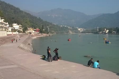East west apartment with ganga view - Rishikesh