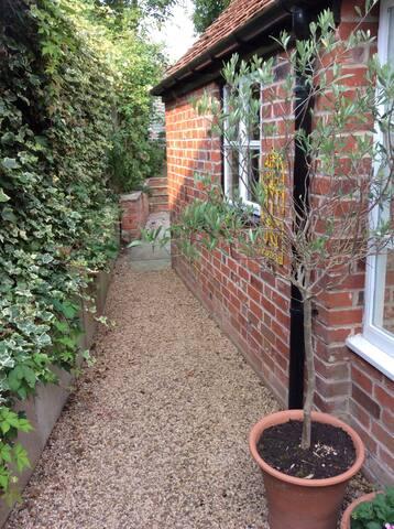 Outlook from Garden Room