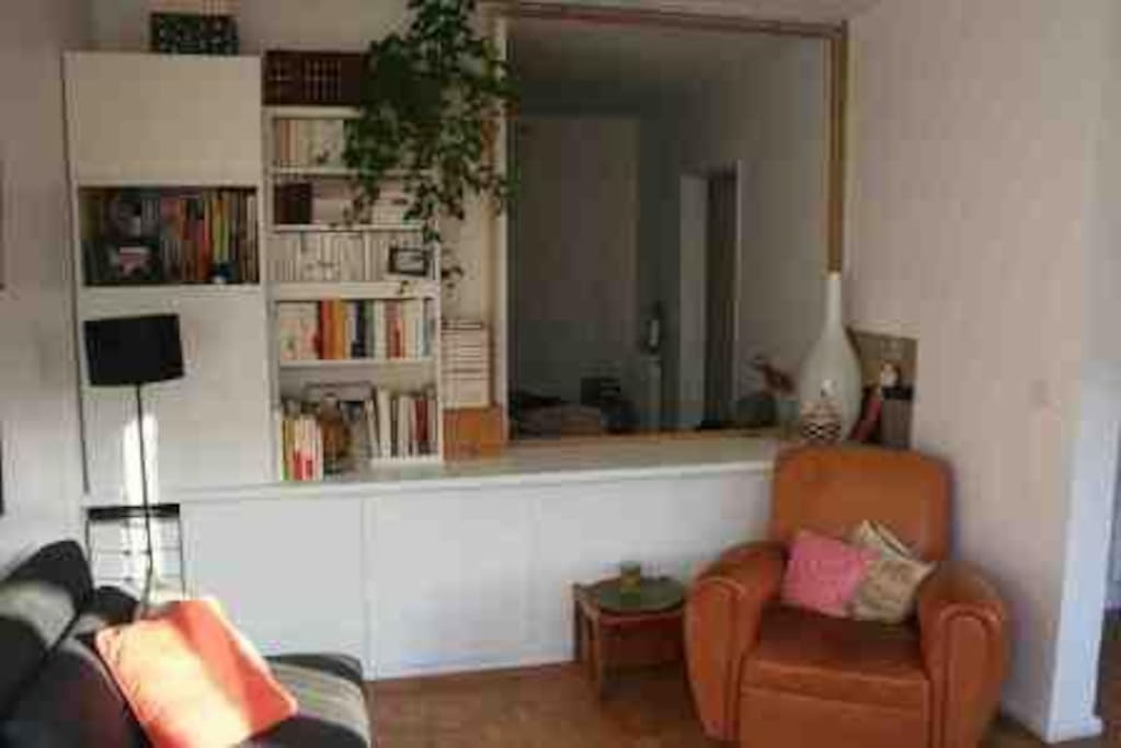 Le salon - The living Room