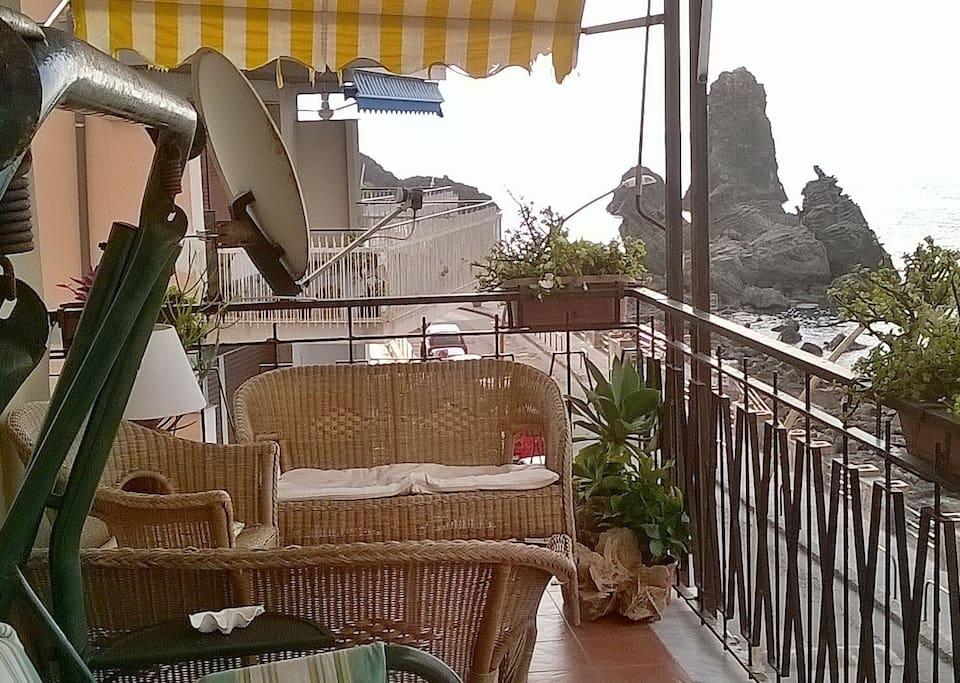 Balcone vista Faraglioni