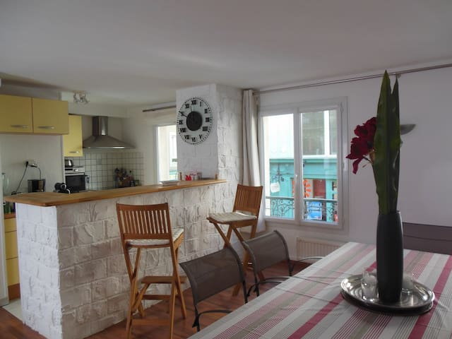 Beau duplex à 2 pas de la plage - St-Malo - Apartment