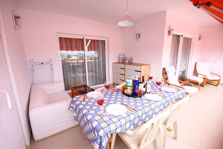 2-bedroom aprt 3 m from the beach - 18 Paseo Piconera, Las Americas - Pis
