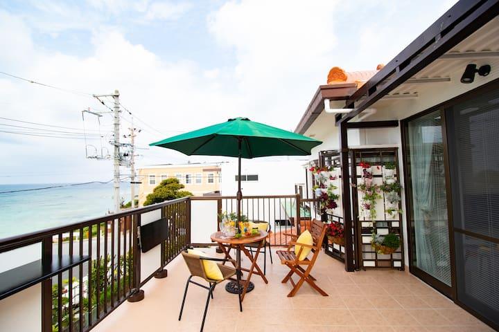 Okinawa! Near by fish market☆Max10ppl!MK028