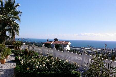 Casita with private pool/seaview/8min to the beach - Algarrobo