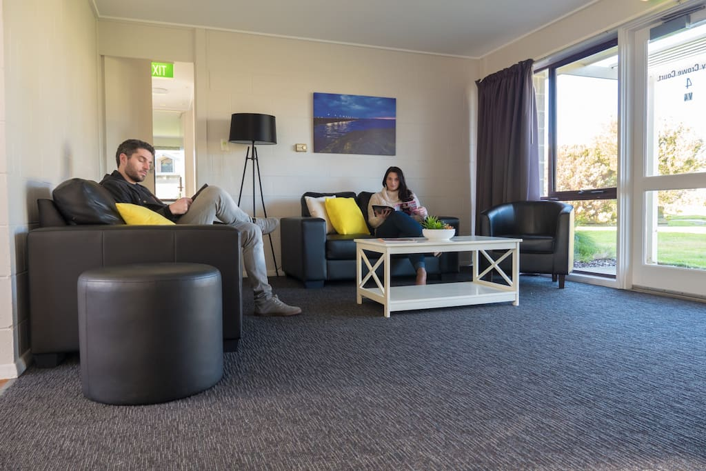 Relax and enjoy to comforts of the private living rooms. (As we have multiple private houses on site, lounge may vary to photos)
